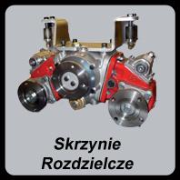 Skrzynie rozdzielcze, PTO, Skrzynie rozdzielcze stosowane są by można było rozdzielić moc przenoszoną przez wałek odbioru mocy,  np na pompę lub przystawkę odbioru mocy, która będzie napędzała silnik hydrauliczny
